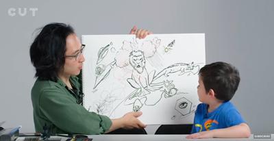 Vídeo de creatividad con niños