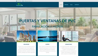 diseño web aragonesa de pvc
